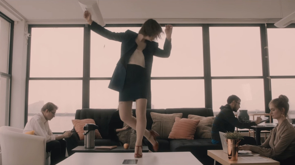 Madeline Kenney s Joyous  Cut Me Off  Video Features Some Fancy Office Moves