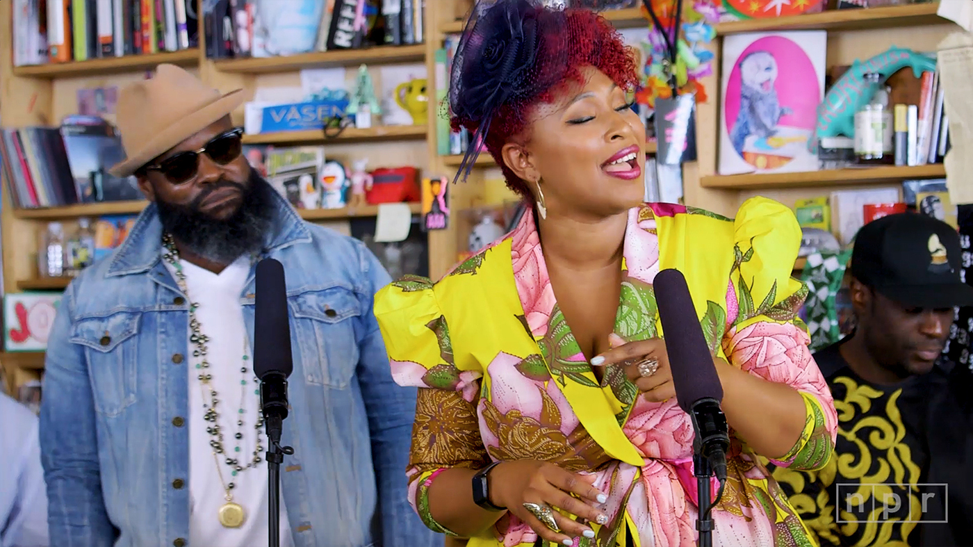 Mumu Fresh Feat  Black Thought & DJ Dummy: Tiny Desk Concert