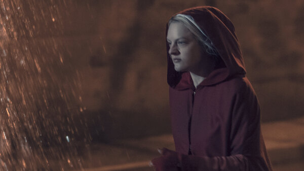June (Elisabeth Moss) faces big changes in the season finale of The Handmaid's Tale.