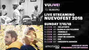 Watch ÌFÉ, Delaporte, Femina-X And More, Live At Nuevofest 2018
