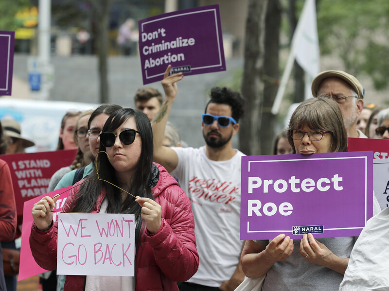 Choice Advocates Not Only Want More >> Abortion Rights Advocates Preparing For Life After Roe V Wade Npr