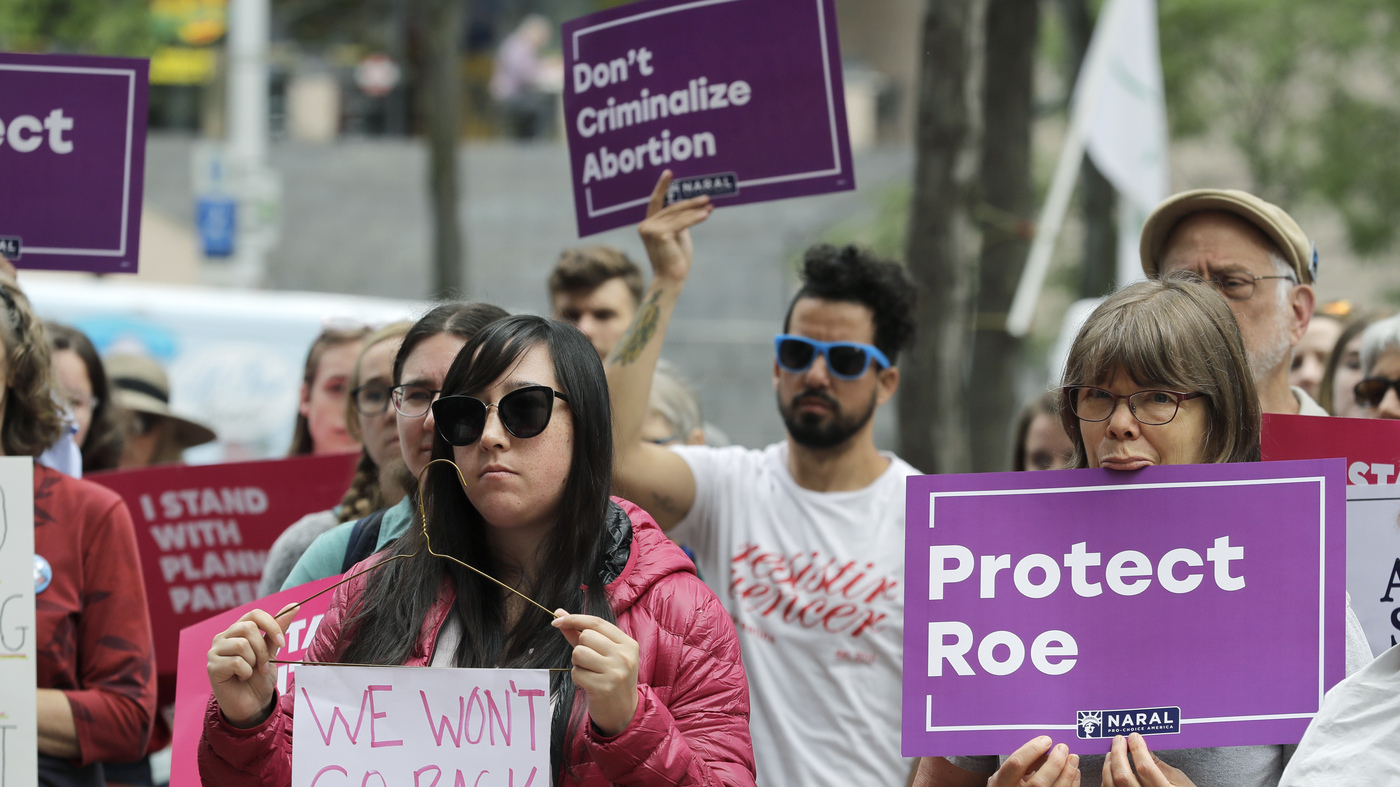 photo image Abortion Rights Advocates Preparing For Life After Roe V. Wade