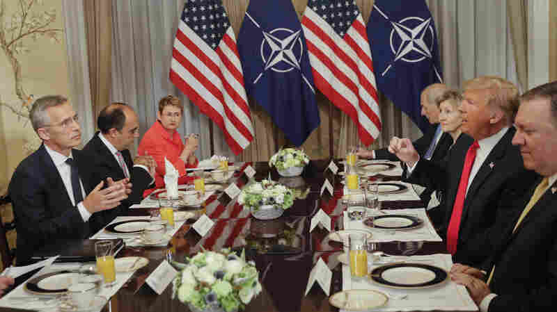 Trump Blasts Allies At NATO Summit