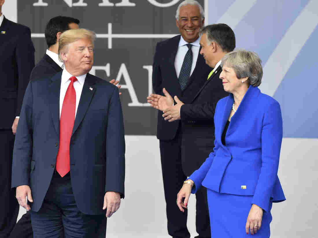 May looking forward to explaining Brexit stance to Trump - May spokesman