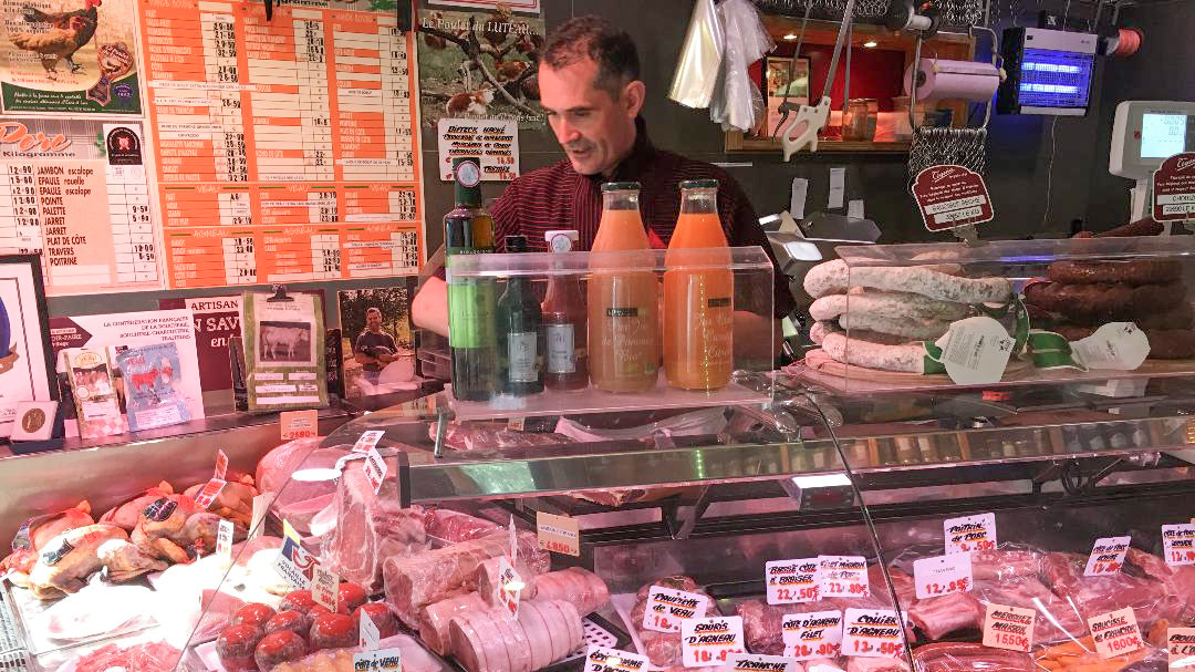 npr.org - Eleanor Beardsley - French Butchers Ask For Protection After Threats From Violent Vegans