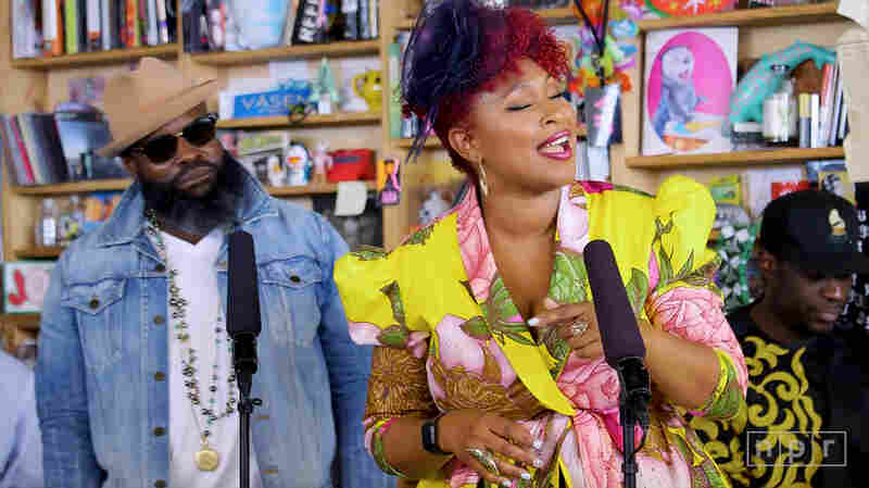 Mumu Fresh Feat. Black Thought & DJ Dummy: Tiny Desk Concert