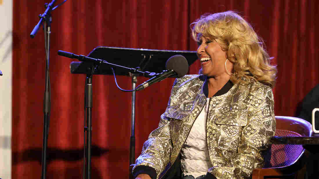 Darlene Love appears on Ask Me Another at the Bell House in Brooklyn, New York.