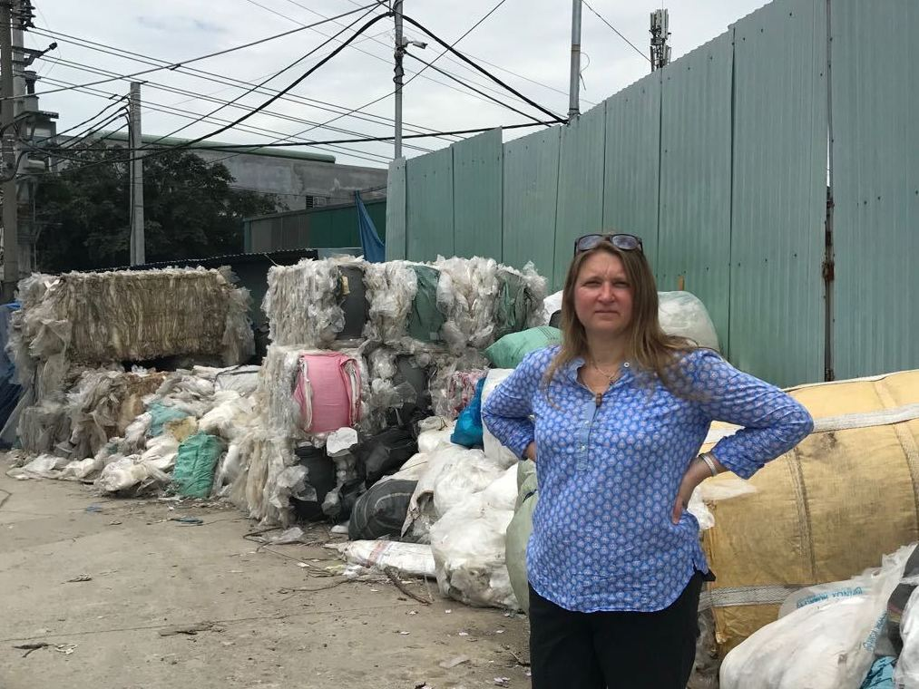 We're Drowning In Plastic Trash. Jenna Jambeck Wants To Save Us