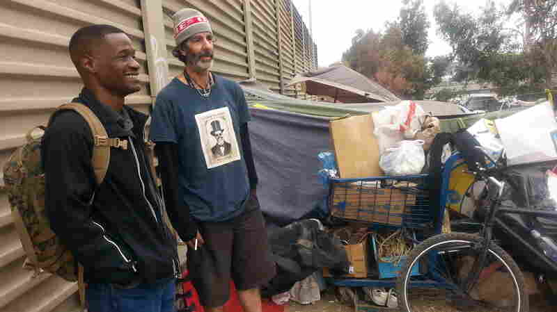 Fewer Homeless Veterans On LA's Streets