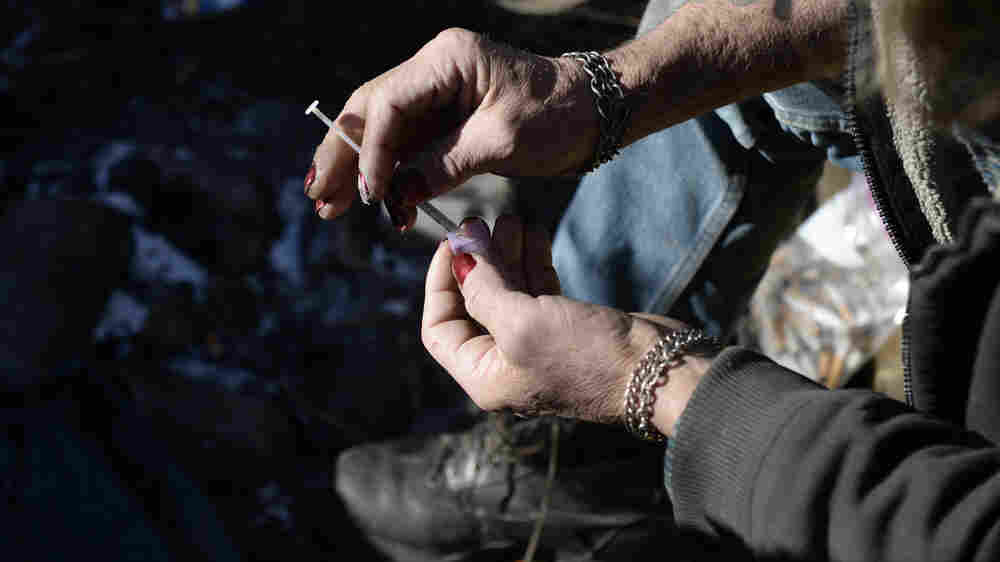 A Surge In Meth Use In Colorado Complicates Opioid Recovery