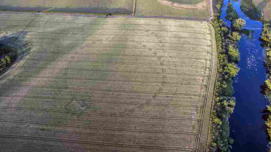 In Ireland, Drought And A Drone Revealed The Outline Of An Ancient Henge