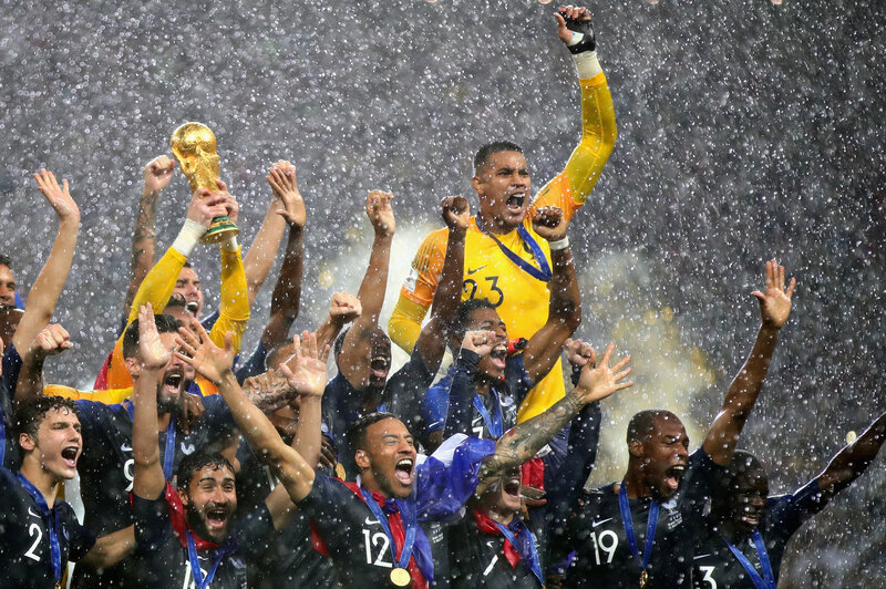 On Top Of The World France Wins World Cup Npr