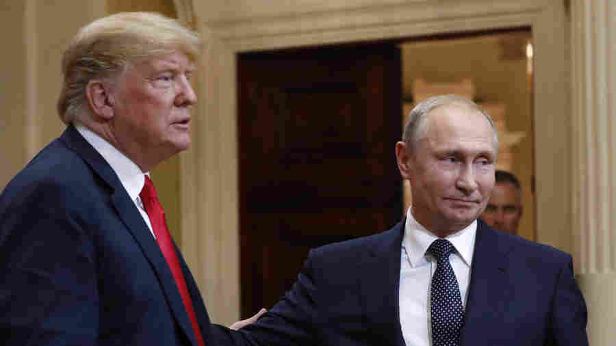Trump's Refusal To Back U.S. Intel Over Russia At Putin Summit Sparks Bipartisan Ire
