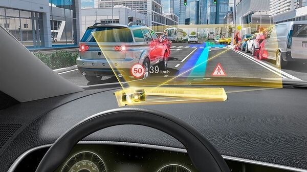 DigiLens is working on a new kind of head-up display for cars that would turn a driver
