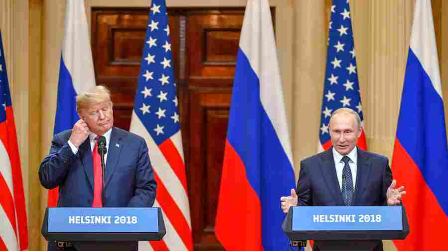 Trump Denies Election Interference, Putin Says He Wanted Trump To Win In 2016