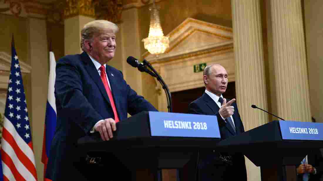 Putin summit: President slammed as 'TREASONOUS' after comments about Russian Federation meddling