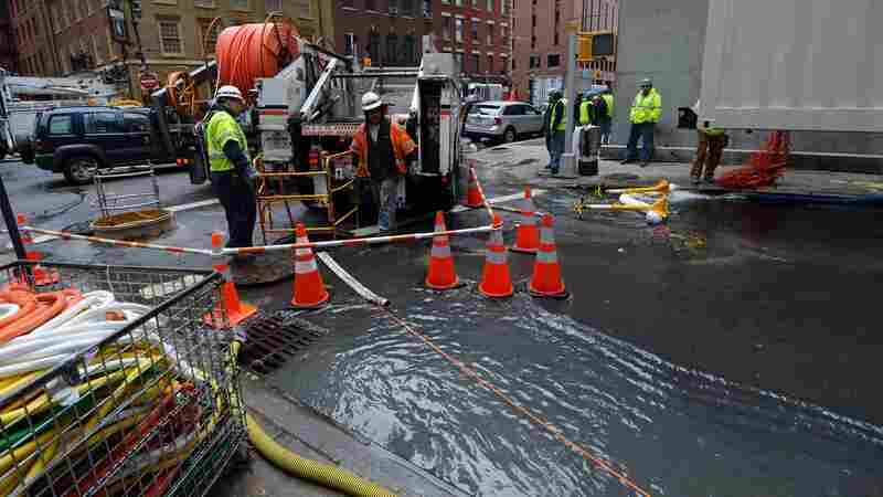 Rising Seas Could Cause Problems For Internet Infrastructure