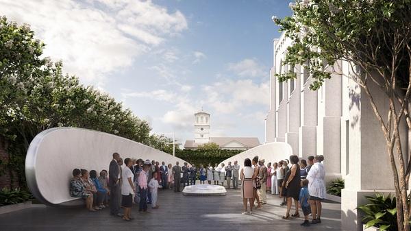 Architect Unveils Design For Emanuel AME Church Memorial