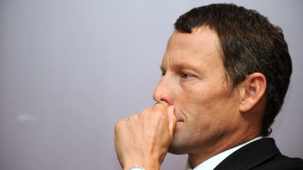 Lance Armstrong Returns To Cycling — As A Superfan