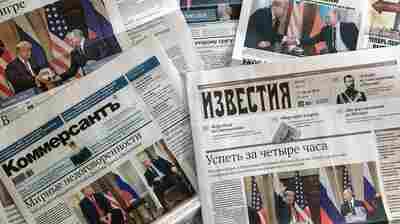 'Better Than Super': Russia Reacts To Trump-Putin Summit In Helsinki