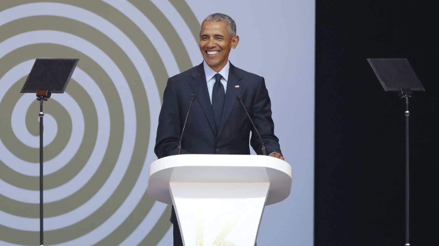 Transcript Obamas Speech At The 2018 Nelson Mandela Annual Lecture