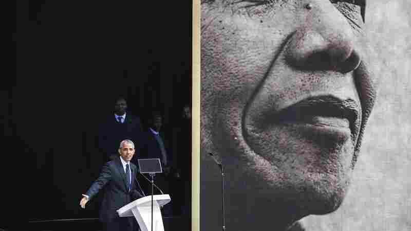 'We've Been Through Darker Times': Barack Obama Speaks In South Africa