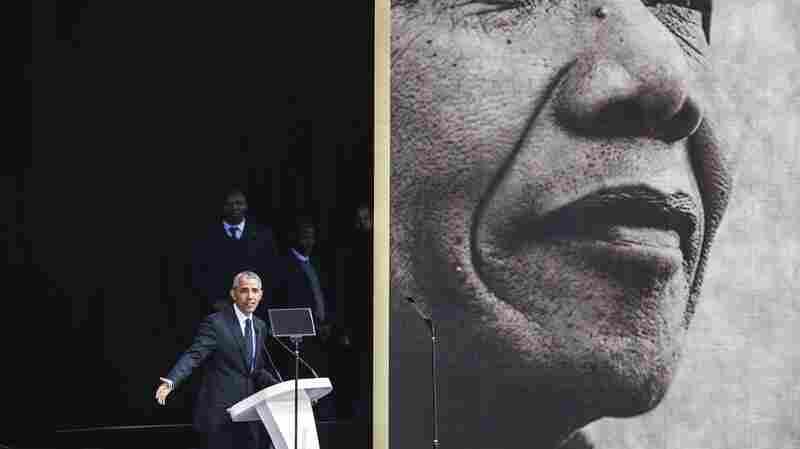 'We've Been Through Darker Times': Barack Obama Speaks In South Africa