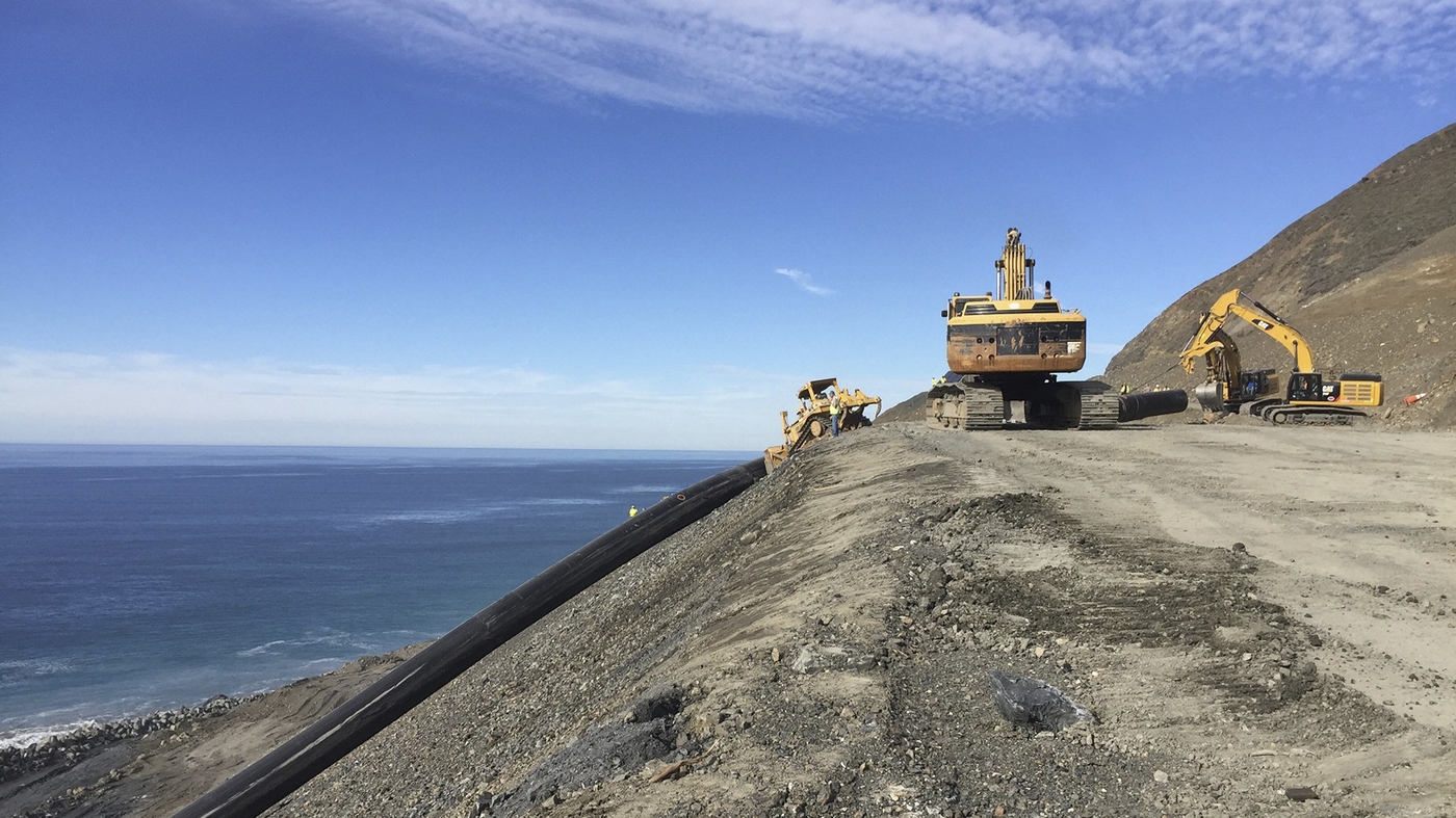 Lifeline' Stretch Of California's Highway 1 Reopens 14