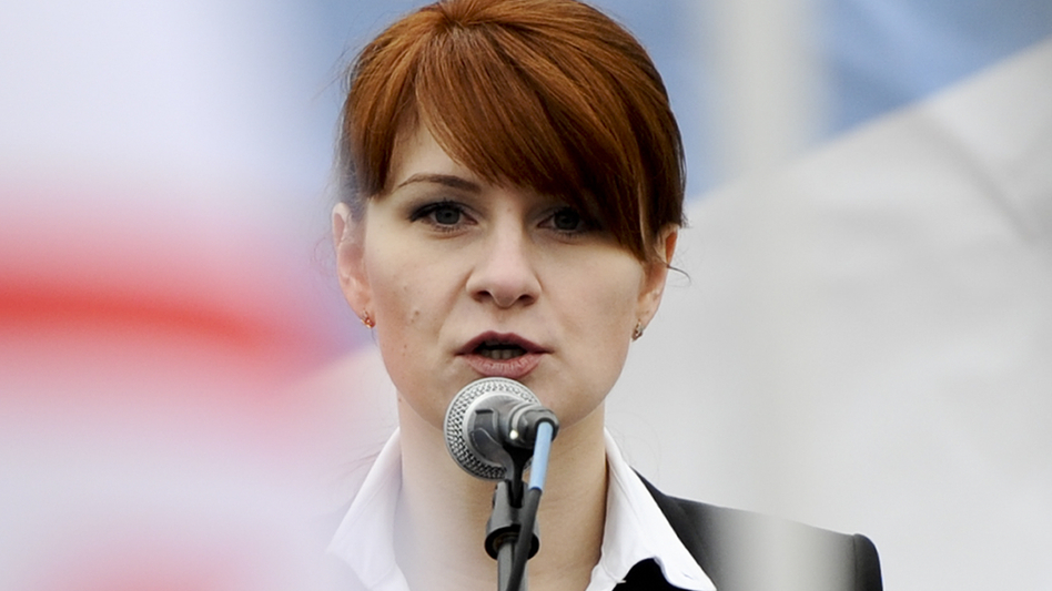 Prosecutors said on Wednesday that the FBI has information that Maria Butina has been in contact with Russia's FSB spy agency for as long as she has been in the United States. (AP)