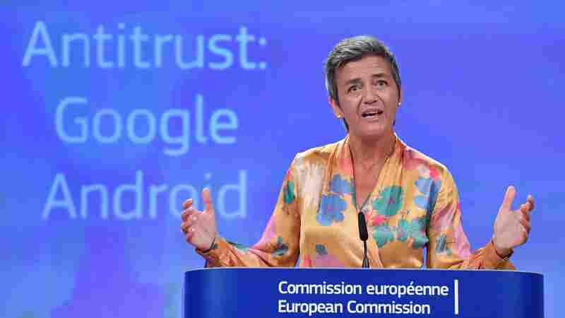 EU Hits Google With $5 Billion Fine For Pushing Apps On Android Users