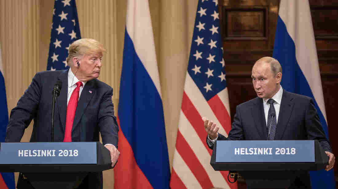 Trump and Putin 'discussed Ukraine' crisis at Helsinki summit - Russian leader reveals