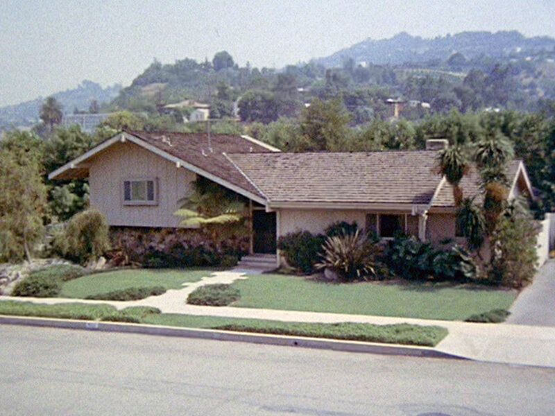Brady Bunch House Outside