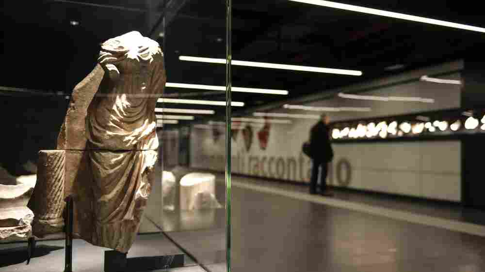 Rome's Subway Expansion Reveals Artifacts From The Ancient Past