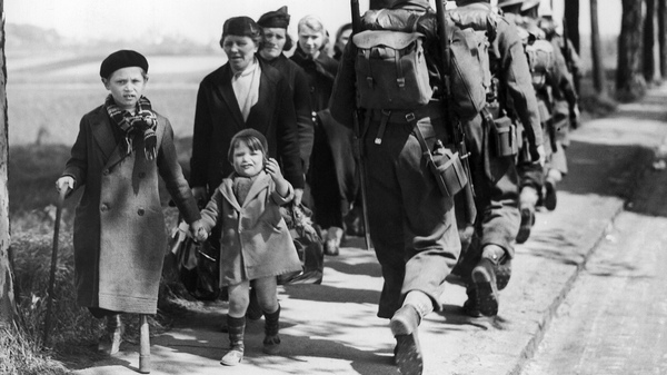 International law on refugees has its roots in the massive displacement that occurred in Europe during World War II. Above: Belgian refugees fleeing after the German invasion of their country in 1940.