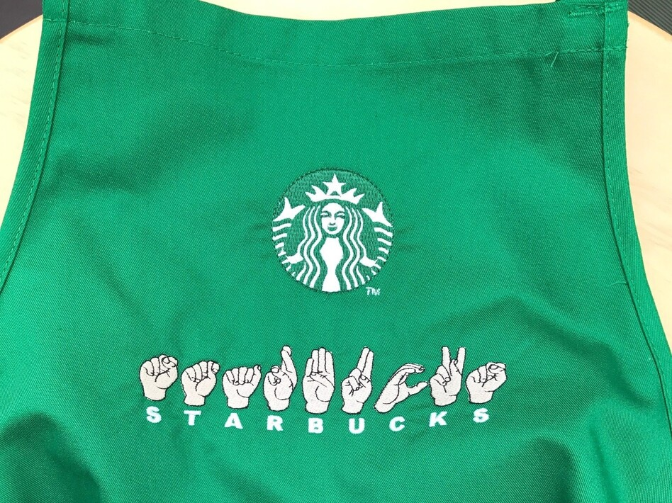 Starbucks is opening its first deaf-friendly store in the U.S., where employees will be versed in American Sign Language and stores will be designed to better serve deaf people. (Courtesy of Starbucks)