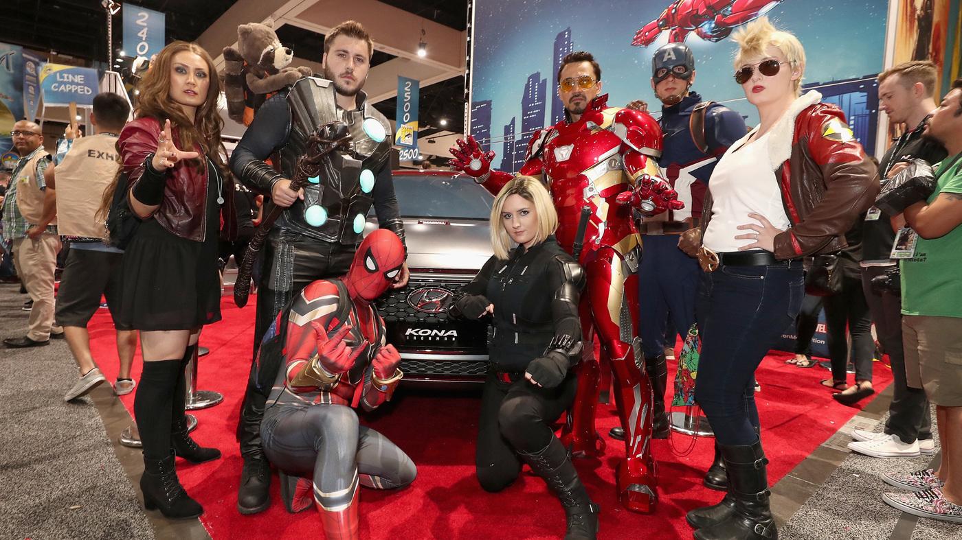 Car Talk Podcast >> Comic-Con Day 3: The Best Hawkeye : NPR