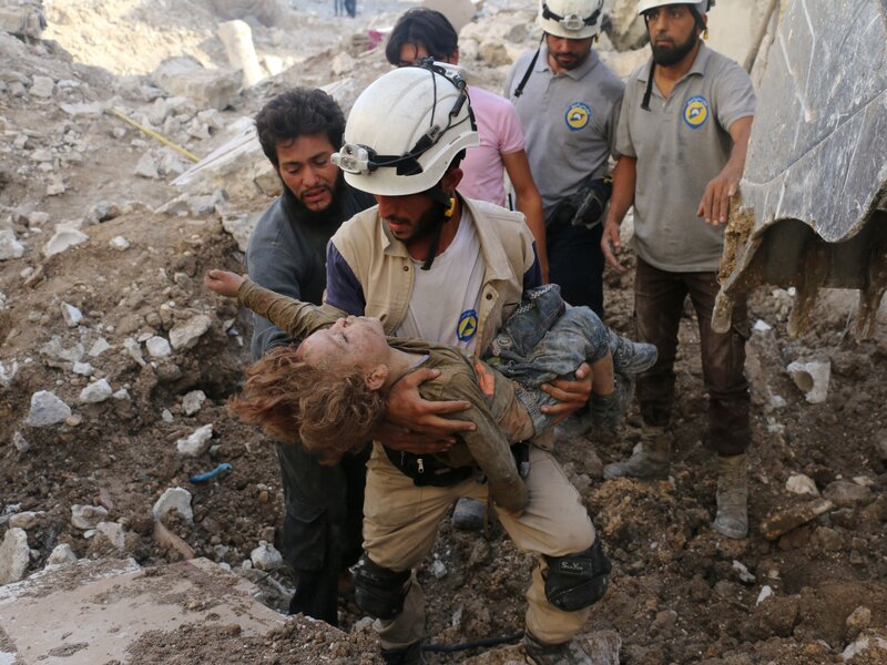 Rescuing The Rescuers   Stranded Syrian White Helmets Evacuated By Israel.    35da3f534