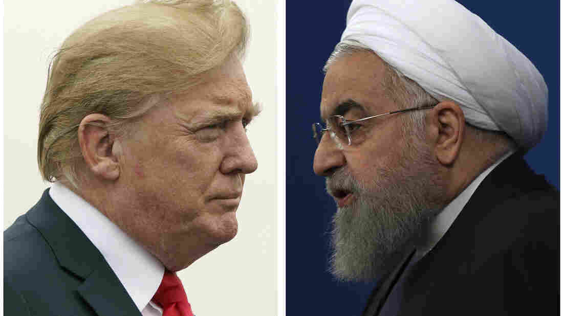 Trump warns Iran to 'never, ever threaten' USA or suffer consequences