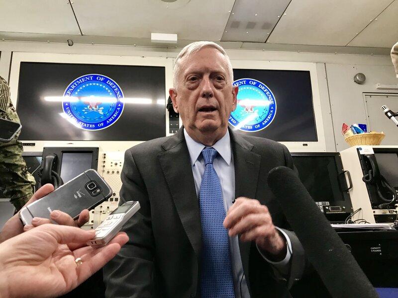 in a tumultuous administration defense secretary endures npr