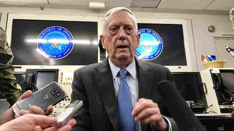 In A Tumultuous Administration, Defense Secretary Endures