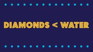 The Diamond-Water Paradox