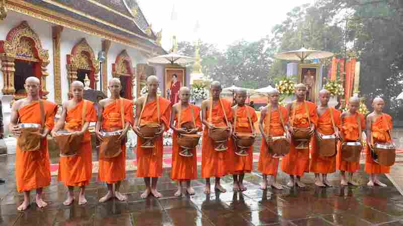 Thai Cave Boys Ordained As Buddhist Novices