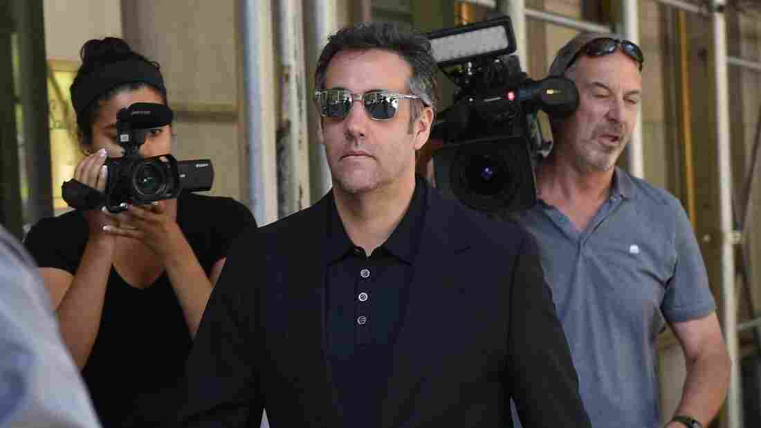 Michael Cohen tape fuels debate about Trump, cash and credibility