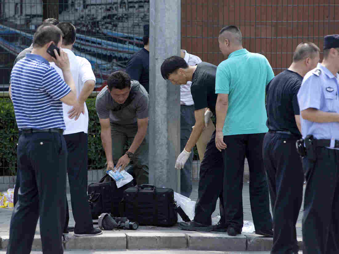 Bomb detonated at U.S. embassy in Beijing