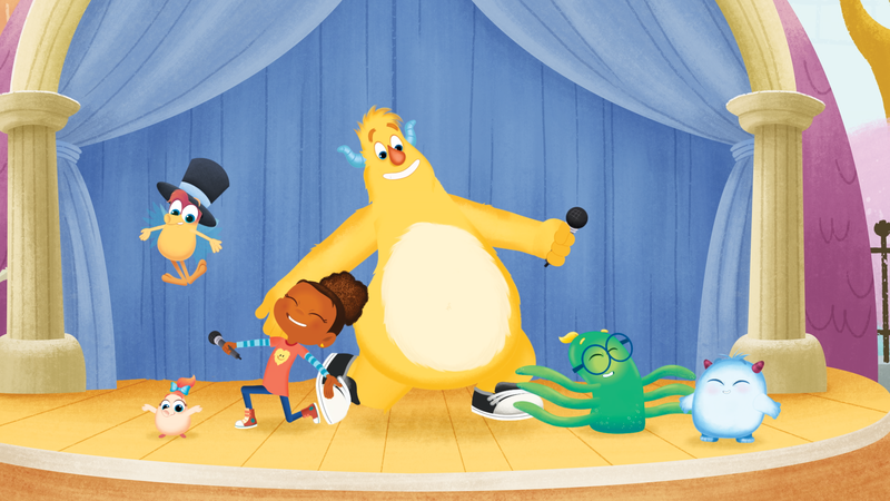 In Sesame's New Show, To Play Is To Learn