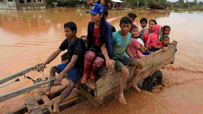 Huge Flood From Failed Dam In Laos Has Now Spread To Cambodia