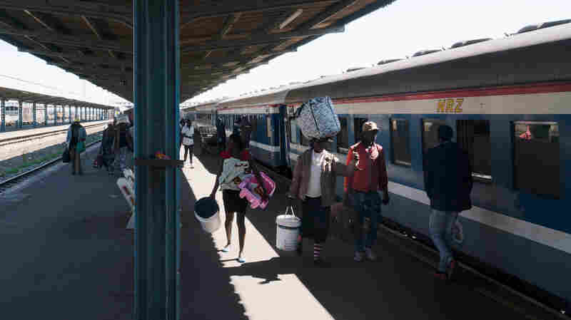 Zimbabwe's Rickety Trains Get A Boost From Expat Investors Next Door
