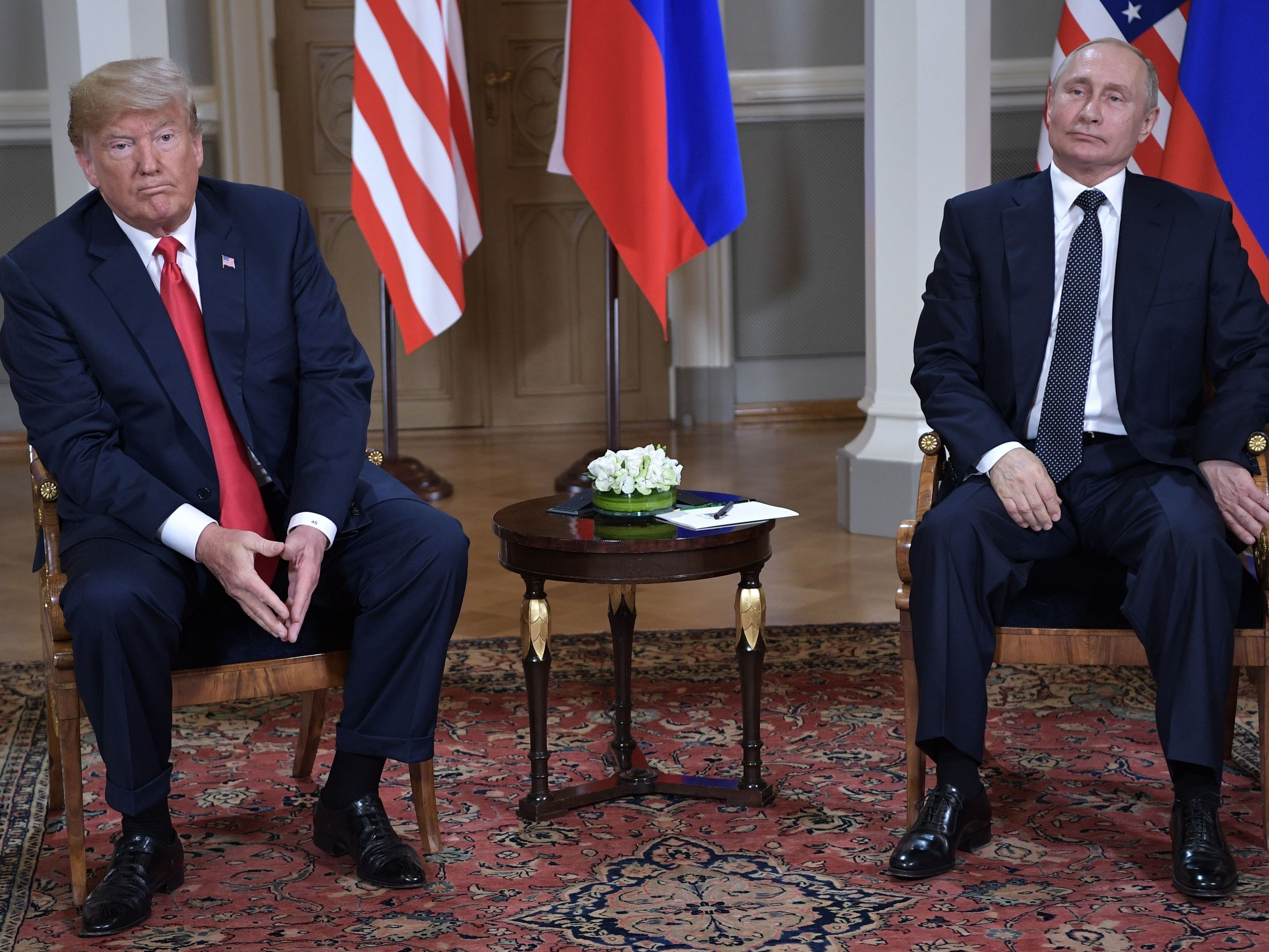 Trump Is Open To Visiting Russia If Putin Invites Him, White House Says
