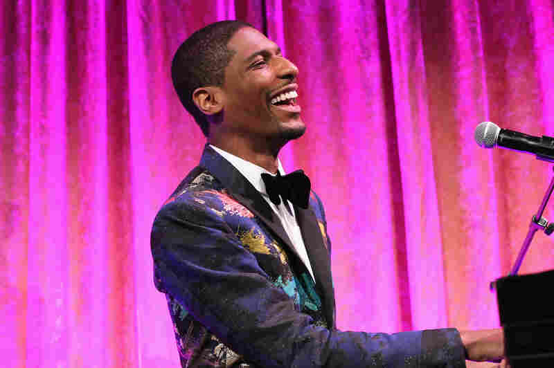 Jon Batiste performs at the National CARES Mentoring Movement's Gala on Jan. 30, 2017 in New York City.