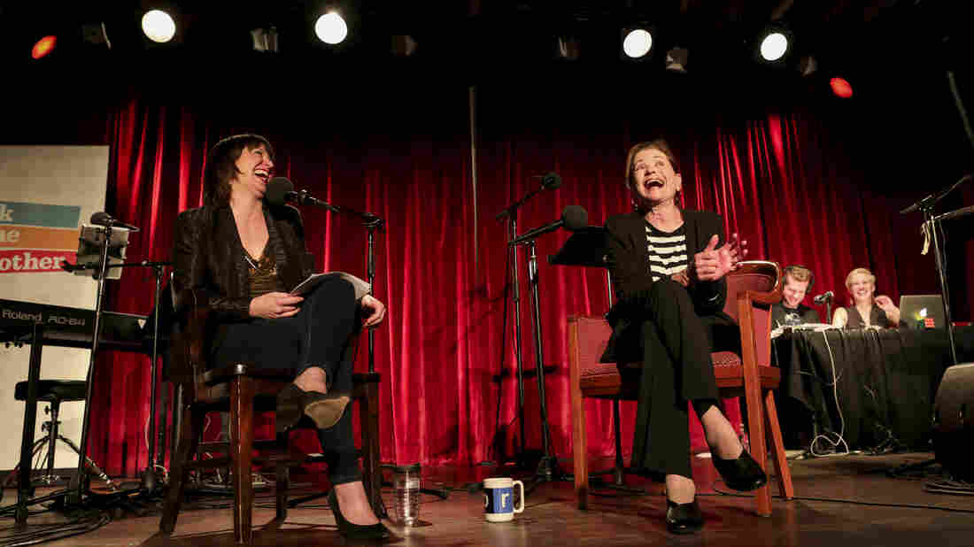 Ophira Eisenberg chats with actor Jessica Walter about her numerous and beloved TV roles on Ask Me Another at the Bell House in Brooklyn, New York.
